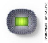 stadium 3d rendering  | Shutterstock . vector #1047658540