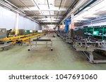 bus production industry | Shutterstock . vector #1047691060