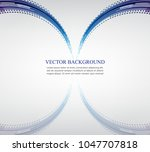 white background blue...   Shutterstock .eps vector #1047707818
