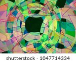 abstract colorful background... | Shutterstock . vector #1047714334