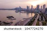 beautiful view of panama city... | Shutterstock . vector #1047724270