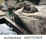 Frog Statue With Waterfall In...