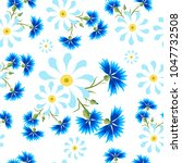 seamless pattern with  small... | Shutterstock .eps vector #1047732508