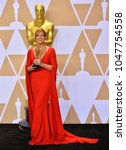 Small photo of LOS ANGELES, CA - March 4, 2018: Allison Janney at the 90th Academy Awards Awards at the Dolby Theartre, Hollywood