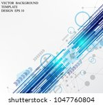 abstract geometric pattern...   Shutterstock .eps vector #1047760804