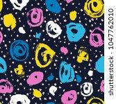 vector seamless pattern.... | Shutterstock .eps vector #1047762010