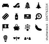 solid vector icon set   vip... | Shutterstock .eps vector #1047762214