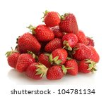 Sweet Ripe Strawberries...