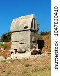 Small photo of Ancient Tomb in Kinik, Patara, Turkey.