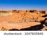 ancient ruins around the... | Shutterstock . vector #1047835840