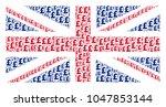 uk state flag collage designed...   Shutterstock .eps vector #1047853144