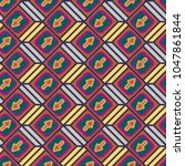 seamless abstract pattern with... | Shutterstock .eps vector #1047861844