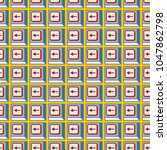 seamless abstract pattern with... | Shutterstock .eps vector #1047862798
