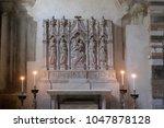 lucca  italy   june 03  virgin... | Shutterstock . vector #1047878128