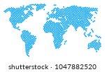 geographic atlas pattern... | Shutterstock .eps vector #1047882520