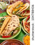 traditional mexican food | Shutterstock . vector #104788436