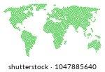 international atlas mosaic...   Shutterstock .eps vector #1047885640