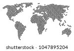 geographic atlas concept... | Shutterstock .eps vector #1047895204