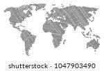 continental atlas pattern...   Shutterstock .eps vector #1047903490