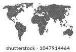 geographic atlas pattern done...   Shutterstock .eps vector #1047914464