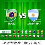 vector illustration football... | Shutterstock .eps vector #1047920266
