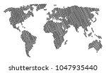 continental atlas composition...   Shutterstock .eps vector #1047935440