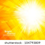 bright orange background with... | Shutterstock .eps vector #104793809