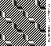 vector seamless pattern. modern ... | Shutterstock .eps vector #1047984403