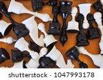 chessmen on the board   Shutterstock . vector #1047993178