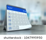 3d illustration of calendar... | Shutterstock . vector #1047995950