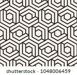 vector seamless pattern. modern ... | Shutterstock .eps vector #1048006459