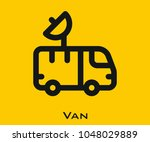 van vector icon
