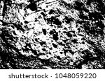 harsh stone surface. black... | Shutterstock .eps vector #1048059220
