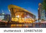 downtown  dubai  uae   1 19...   Shutterstock . vector #1048076530