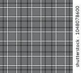 seamless plaid check pattern in ... | Shutterstock .eps vector #1048078600
