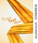 orange abstract backdrop.... | Shutterstock .eps vector #104808818