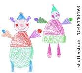 Hand Sketched Kids Illustratio...