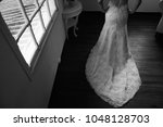 bride wedding dress | Shutterstock . vector #1048128703