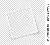 rotated image frame concept ... | Shutterstock .eps vector #1048189939
