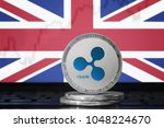 ripple  xrp  cryptocurrency ... | Shutterstock . vector #1048224670