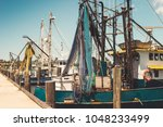 Commercial Fishing Boats At Port