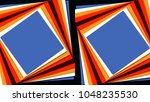abstract triangle background... | Shutterstock . vector #1048235530