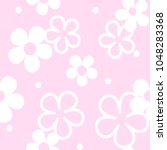 tiny flowers seamless pattern.... | Shutterstock .eps vector #1048283368
