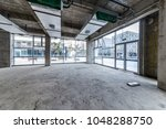 construction site building with ... | Shutterstock . vector #1048288750