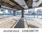 construction site building with ... | Shutterstock . vector #1048288759