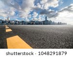 panoramic skyline and buildings ... | Shutterstock . vector #1048291879