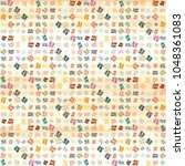abstract colorful pattern for...   Shutterstock .eps vector #1048361083