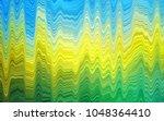 dark blue  yellow vector... | Shutterstock .eps vector #1048364410