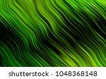 dark green vector pattern with... | Shutterstock .eps vector #1048368148