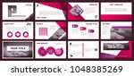 business backgrounds of digital ... | Shutterstock .eps vector #1048385269